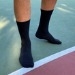 Men's Performance Crew Socks (Black)