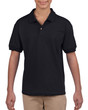 DryBlend® Youth Jersey Polo (2Pack) (Black)