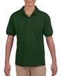 DryBlend® Youth Jersey Polo (2Pack) (Forest Green)
