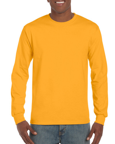 Men's Classic Long Sleeve T-Shirt (Gold)