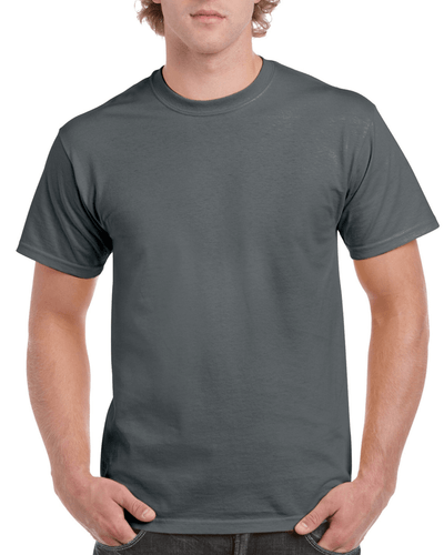 Men's Classic Short Sleeve T-Shirt (Charcoal)