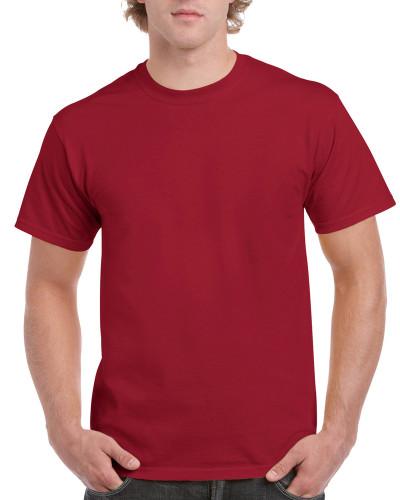 Men's Ultra Cotton Adult T-Shirt (Cardinal Red)