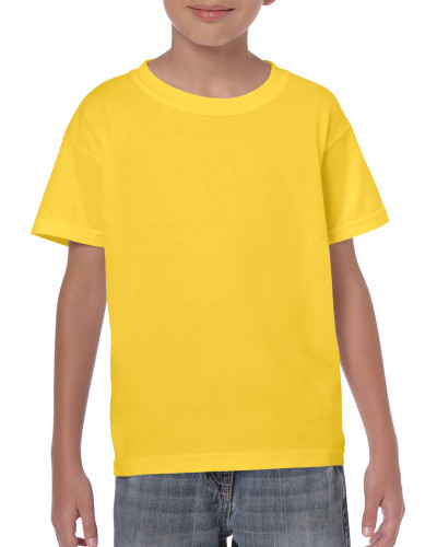 Kids' Heavy Cotton T-Shirt (Daisy)