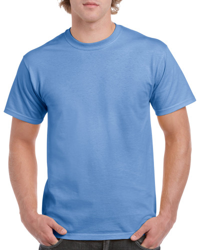 Men's Heavy Cotton Adult T-Shirt (Carolina Blue)