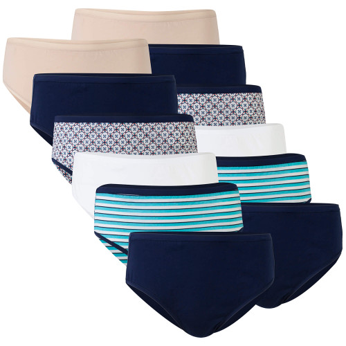 Women's Cotton Hi Cut Panties