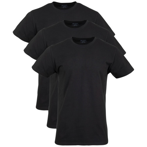 Men's Cotton Stretch T-Shirt (Black Soot)