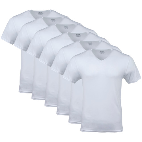 Men's Platinum V-Neck T-Shirt (White)