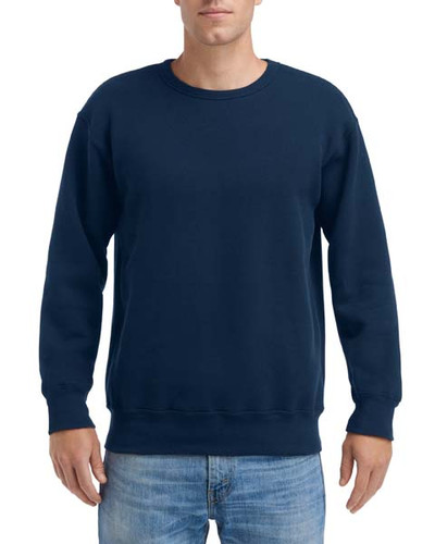 Gildan Hammer® Men's Adult Crew Sweatshirt (Sport Dark Navy)