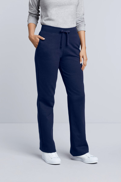 Ladies' Open Bottom Pocketed Sweatpant
