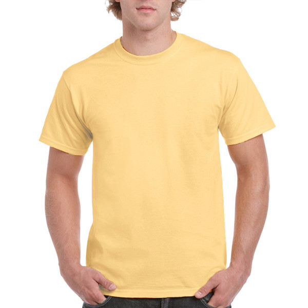 Men's Classic Short Sleeve T-Shirt (Yellow Haze)