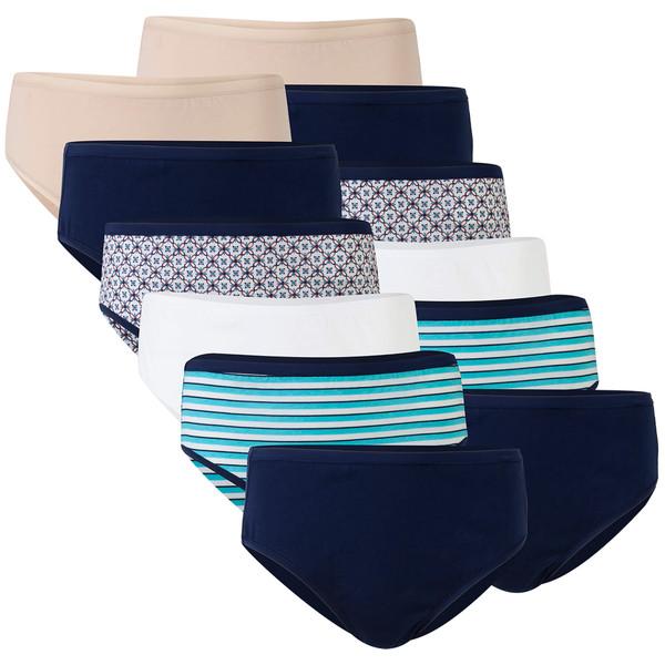 Women's Cotton Hi Cut Panties