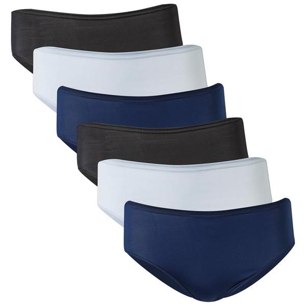 Women's Microfiber Hi Cut Panties