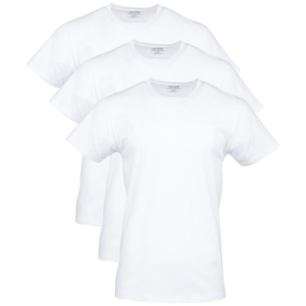 Men's Cotton Stretch T-Shirt (Artic White)