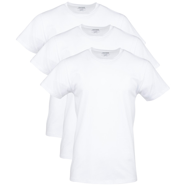 Men's Cotton Stretch T-Shirt (Artic White)