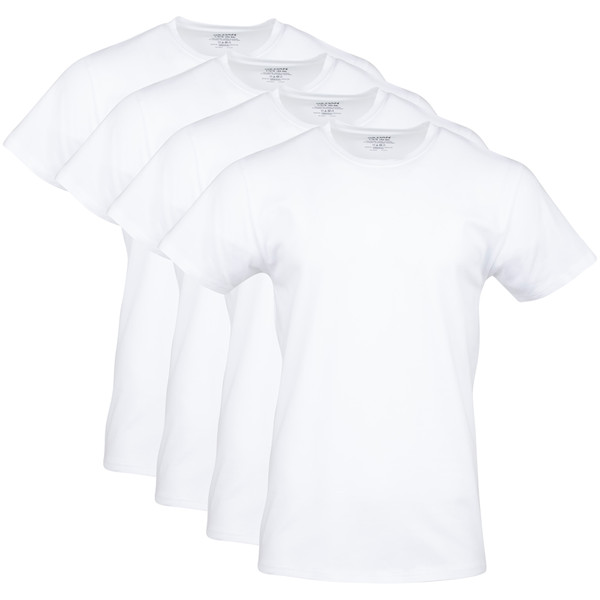 Men's Platinum Crew T-Shirt (White)