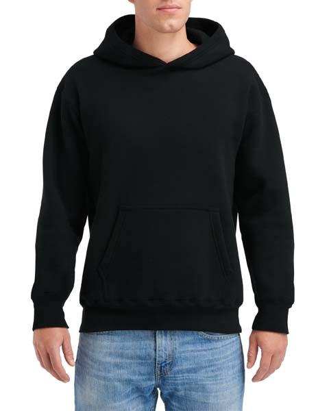 Gildan Hammer® Men's Adult Hooded Sweatshirt (Black)