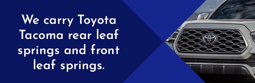 mazda leaf springs