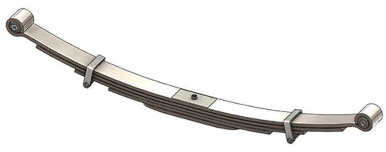 1991 - 2002 C3500HD rear leaf spring, 3345 lbs capacity, 5(4/1) leaf