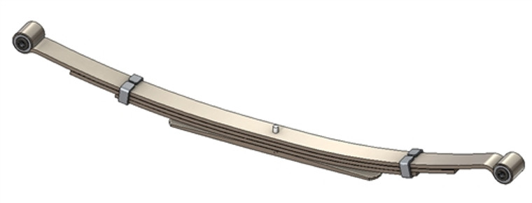 1995 - 2005 Astro / Safari rear leaf spring, 2100 lbs capacity, 5(4/1) leaf