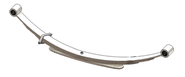 1982 - 1994 S10 / S15 / S10 Blazer / S15 Jimmy rear leaf spring, 4 leaves, 1350 lbs capacity