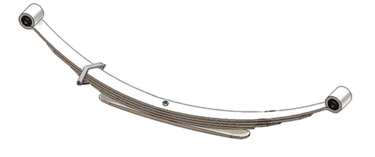 1982 - 1994 S10 / S15 / S10 Blazer / S15 Jimmy rear leaf spring, 5 leaves, 1750 lbs capacity