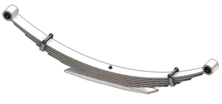 1972 - 1991 GM G10 / G1500 / G20 / G2500 / G30 / G3500 Van rear leaf spring, 3000 lbs capacity, 8(7/1) leaves