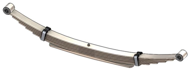 1989 - 1991 Suburban 4x4 rear leaf spring, 7(6/1) leaves, 2300 lbs capacity