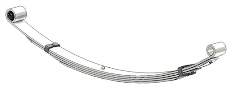 1991 - 1995 Chrysler Town and Country / Dodge Grand Caravan / Plymouth Grand Voyager with all wheel drive rear leaf spring, 4 leaf, 1130 lbs capacity