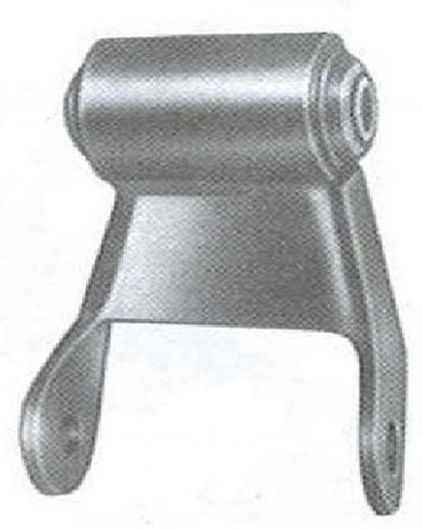 """1980 - 1997 F350 rear shackle with 2-1/4"""" wide leaf springs"""