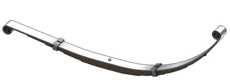 1998 - 2003 Dodge Durango rear leaf spring, 5 leaves, 1800 lbs capacity