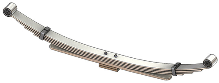 2003 - 2009 Dodge Ram 2500 / 3500 4x4 rear leaf spring, 5(4/1/2Pad) leaves, 2600 lbs capacity