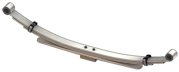 2006 - 2009 Dodge Ram 2500 / 3500 2 Wheel Drive rear leaf spring, 4(3/1) leaves, 2100 lbs capacity