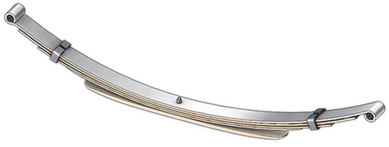 "1973 - 1993 D100 / D150 rear leaf spring with 1/2"" eyes, 5(4/1) leaves, 1650 lbs capacity"