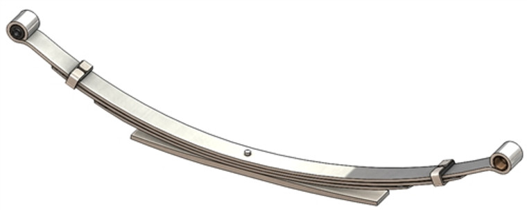 1970 - 1997 Dodge B150 / B250 full size van rear leaf spring, 1600 lbs capacity, 4(3/1) leaves