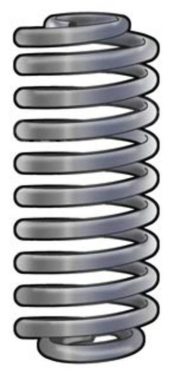 Heavy Duty Coil Springs for 71-93 D300/350 with 3800 & 4000 lbs front GAWR, 79-00 B300/350, 78 B300 with 8200 & 9000 lbs GVW, 79-81 CB300/400 & MB300/400 - 2225 rate per coil