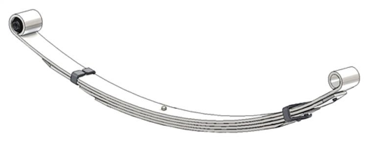 1968 - 1971 Fairlane Convertible / Torino Convertible / Montego Convertible, 1968 - 1969 Mercury Comet Convertible rear leaf spring, 4 leaf