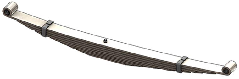 1992 - 2018 Ford E250 / E350 rear leaf spring, 9 leaves, 3460 lbs capacity