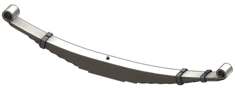 1999 - 2004 Ford Super Duty Chassis Cab rear leaf spring, 11 leaves, 3625 lbs capacity