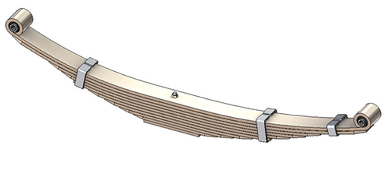 1999 - 2006 F450 / F550 Super Duty rear leaf spring, 9 leaf, 5900 lb capacity
