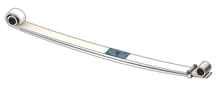 1980 - 1997 Ford F-250 4x4 front leaf spring, 2575 lbs capacity