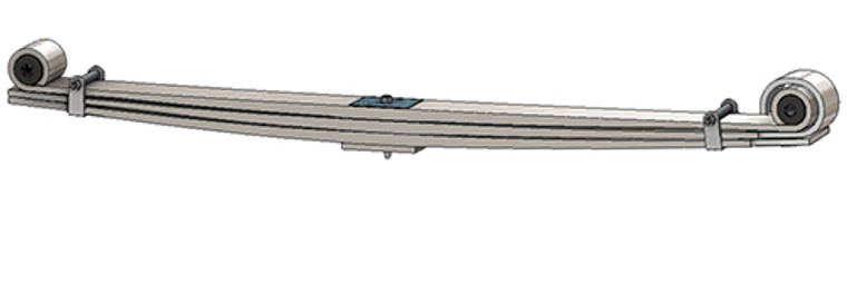 1980 - 1997 F250 /  F350 heavy duty front leaf spring, 4250 lbs capacity
