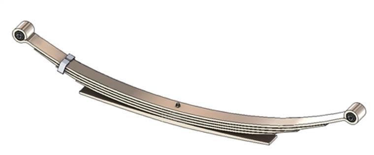 1973 - 79 F100 4x4 / F150 4x4 / F250 rear leaf spring, 5(4/1) leaf, 1950 lbs capacity