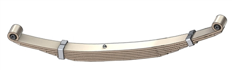"1975 - 1991 E100 / E150 rear leaf spring with 124"" Wheel Base, 6 leaves, 1450 lbs capacity"