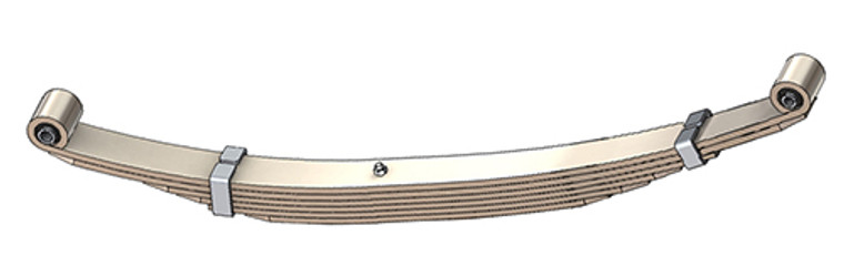 "1975 - 1991 E100 / E150 rear leaf spring with 138"" or 158"" Wheel Base, 6 leaves, 1750 lbs capacity"