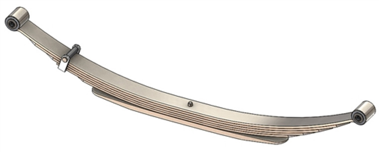 1975 - 1991 E250 / E350 van rear leaf spring, 6(5/1) leaves, 2900 lbs capacity