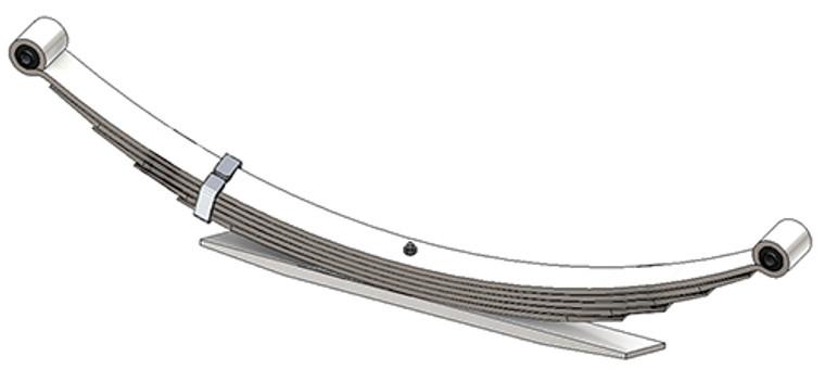 1980 - 1996 F150 / 1980 - 1997 F250, F350 rear leaf spring, 6(5/1) leaf, 2975 lbs capacity