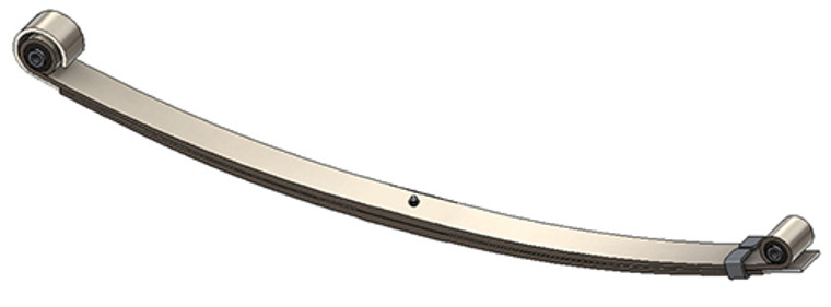 1999 - 2004 Ford Super Duty front leaf spring, 2 leaves, 2630 lbs capacity