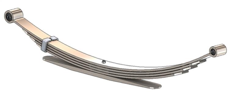 1980 - 1996 F150 2 wheel drive rear leaf spring, 5(4/1) leaf, 2200 lbs capacity