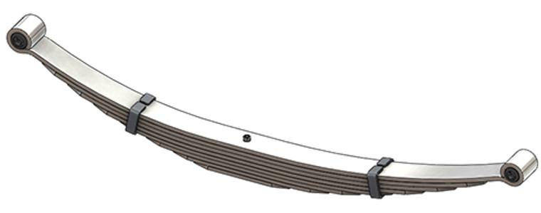 1988 - 1997 Forrd F Super Duty rear leaf spring, 8 leaf, 4350 lb capacity