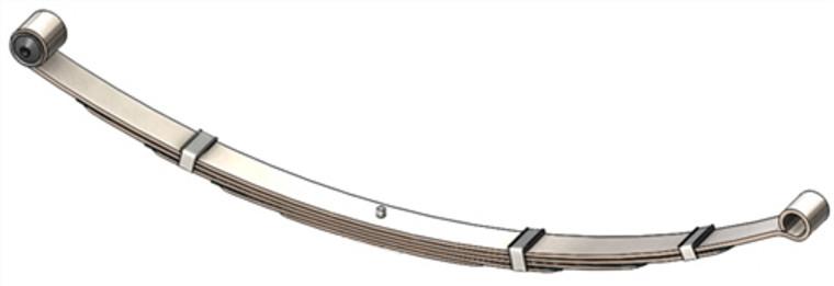 """1964 - 1976 Dart, Valiant / 1964 - 1969 Barracuda rear leaf spring with 5/8"""" front eye bolt, 5 leaf"""